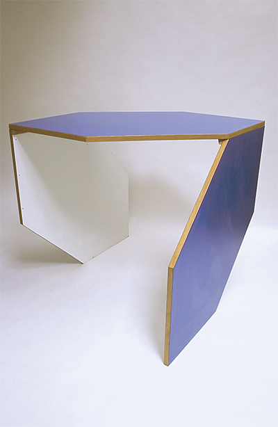 FWUW blue table 2001 Laminated lab tops 1000 × 1300 x 870mm, Unique