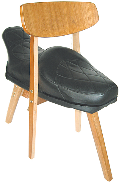 Vespa-ino Chair 2003 Vespa Yankee seat, chair 600 × 300 x 650mm, Unique