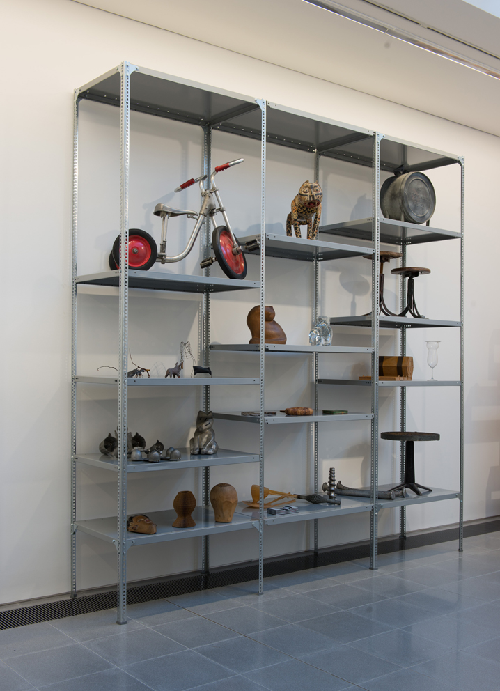 Demetrius Comino Dexion Slotted Angle 1947 / 2014 Steel Courtesy of Dexion Storage Systems Objects courtesy of Ron Arad