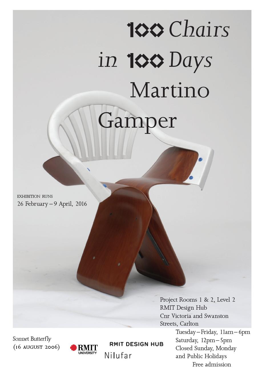 100 Chairs In 100 Days   RMIT. RMIT Design Hub
