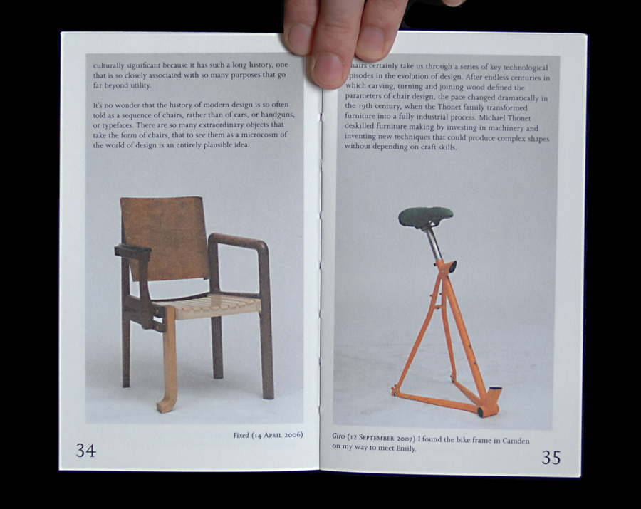 100 Chairs in 100 Days and its 100 Ways by Martino Gamper