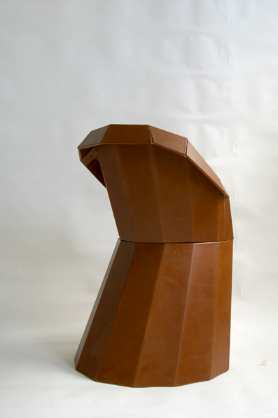 Arnold Circus Chair 2007, Wooden frame, leather cover 69 x 57 x H 93cm, Limited series of 15 examples