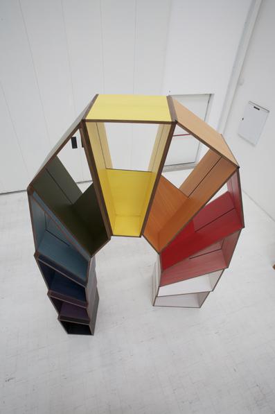 L'arco della Pace 2009 Coloured veneer, poplar plywood