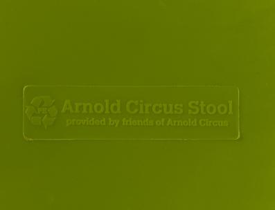 Arnold Circus Stool Logo