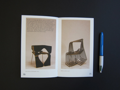 100 Chairs in 100 Days and its 100 Ways, Pocket