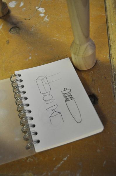 Martino's sketches