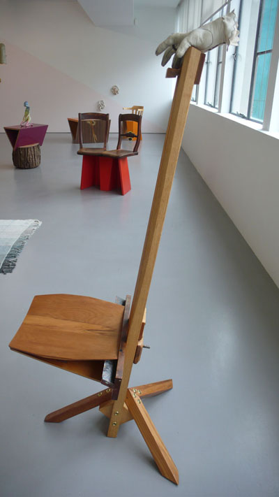 Exhibition View (Martino Gamper Easel Chair 2011 in foreground)