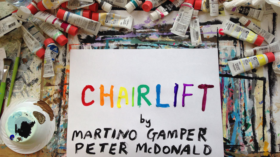 Moroso - CHAIR LIFT - Martino Gamper and Peter McDonald - 2014